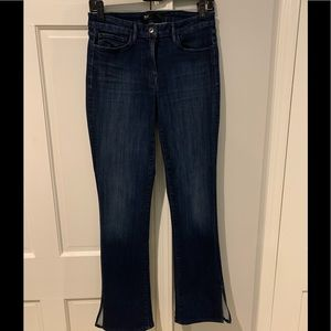 3x1 jeans with side splits at bootcut